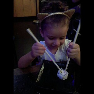 Photo: Out with My Little #Princess for dinner enjoying #Sushi at her favorite spot #SushiStop