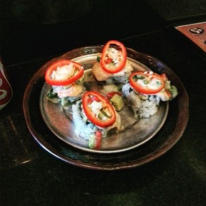 Photo: Red Devil Roll…flame spicy