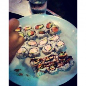 Photo: Sushi at Sushi Stop. #sushistop. #sushi.