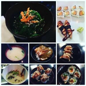 Photo: Sushi, ramen, chicken katsu curry, gyoza, seaweed salad! Love the variety @sushistopusa #sushi #losangeles #japanesefood #foodpic #foodpics #goodfood #laeats #lunch #dinner #ramen #curry #seaweed…