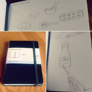 Photo: This week I lost a lot of personal items I liked, one was a journal where I keep creative ideas. I replaced it with…