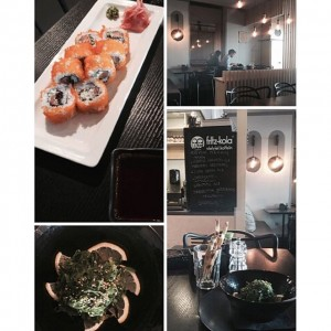 Photo: Today I've visited #sushistop for the first time wow! What a fresh delight! Take me to the #sushi bar , yes, please! // #placesinvilnius…
