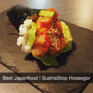 Photo: #japanfood #hossegor #leslandes #landes #suhis #temaki #sushistop @sushistophossegor @chayennejacobs @jeroendevroet perfect my friend