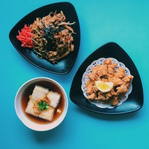 Photo: not feeling sushi tonight? don't worry we have lots of other dinner options! come try our yakisoba, agedashi tofu and chicken karaage at sushistop…