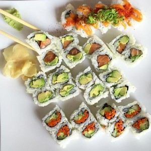 Photo: stopping Monday for #sushistop #sushi #monday #picnicista