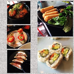 Photo: #sushistop #adventuretime with my #sisterwife #nomnom